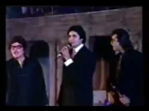 Amitabh Bachchan Best Actor for Hum at Filmfare Awards 1992