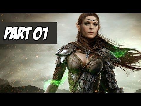 The Elder Scrolls Online Walkthrough   Escape From Coldharbour   Part 1 (Xbox One/PS4/PC)