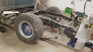 Chevy c10 axle flip kit and drop spindles part 1