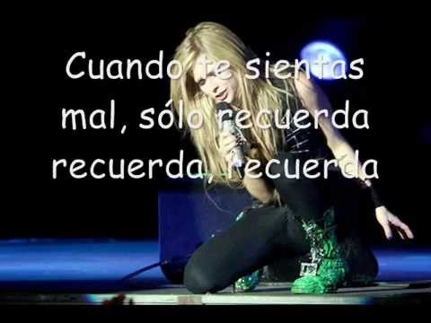Avril Lavigne Won't Let You Go subtitulada al español
