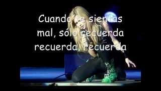 Avril Lavigne Won't Let You Go subtitulada al español