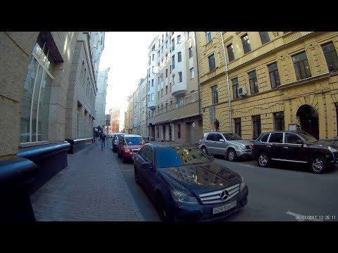 От Тверской до Маяковской. Улочки и переулки. Прогулка 8 ноября 2017 года.