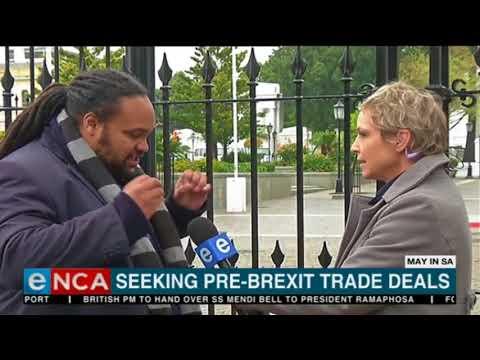 UK Prime Minister seeking pre-brexit trade deals in Africa