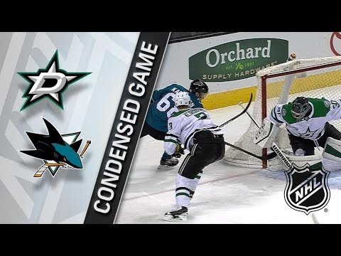Dallas Stars vs San Jose Sharks – Feb. 18, 2018 | Game Highlights | NHL 2017/18. Обзор