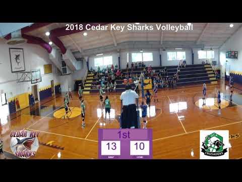CKSSharkSports MS Volleyball vs Ocala Christian Academy 8 20 18