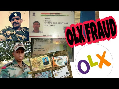 Olx Scam in the name of Indian Army