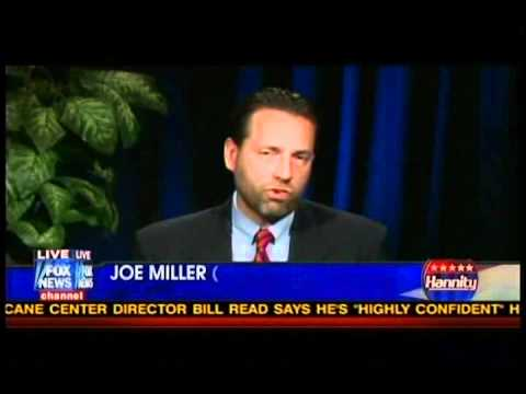 Joe Miller on Hannity 9-1-2010 Alaska Senate
