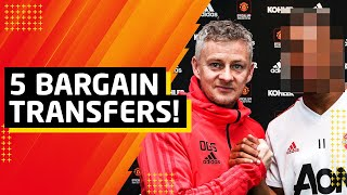Top 5 Manchester United Transfer Bargains