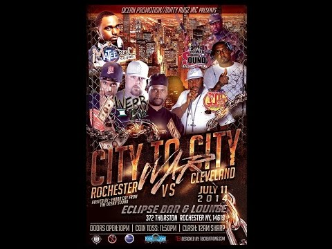 CITY TO CITY WAR ROCHESTER VS CLEVELAND SOUND CLASH  [ROCHESTER NY] (JULY 11 2014)