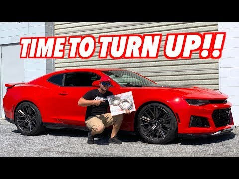 It's Time To TURN UP The Twin Turbo ZL1 And Build The 10 Speed!!