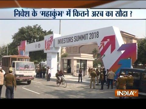 Lucknow: Uttar Pradesh signs 900 MoUs before start of investors' summit 2018