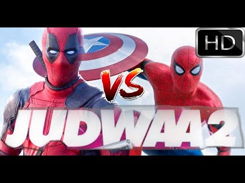 Judwaa 2 Trailer | deadpool and spiderman...