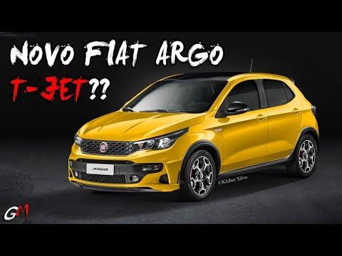 FIAT ARGO T-JET PARA ENCARAR O NOVO POLO GTS???