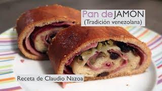 Pan de jamón venezolano - Receta navideña de Claudio Nazoa