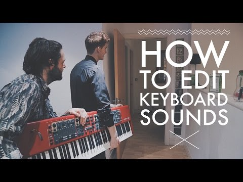 How I Edit Keyboard Sounds For Artists | Session Musician Advice // VLOG[101]
