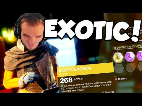 EXOTIC ENGRAMS! (Destiny 2)