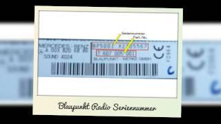 Radio Code Radiocode VW Skoda Becker Blaupunkt Ford Online bestellen