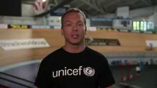 Sir Chris Hoy Invites you to Watch the Glasgow 2014 Opening Ceremony with UNICEF