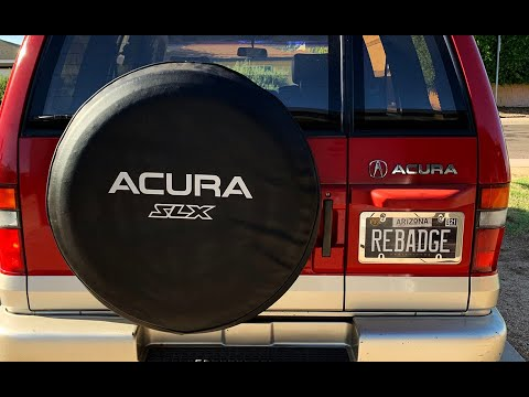 Project Acura SLX Part 4:  Maintenance, Tires, & Another Detail