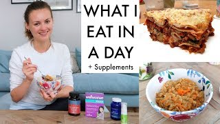 29. WHAT I EAT IN A DAY + SUPPLEMENTS