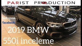 Yeni BMW G30 550i xDrive M Paket 462 HP  inceleme New BMW G30 550i Review