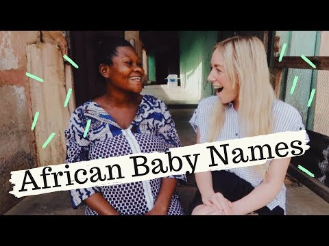 AFRICAN BABY NAMES  - With Grace & Humanitas | SJ STRUM