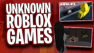 The top UNKNOWN roblox games (SUPER SPOOKY)