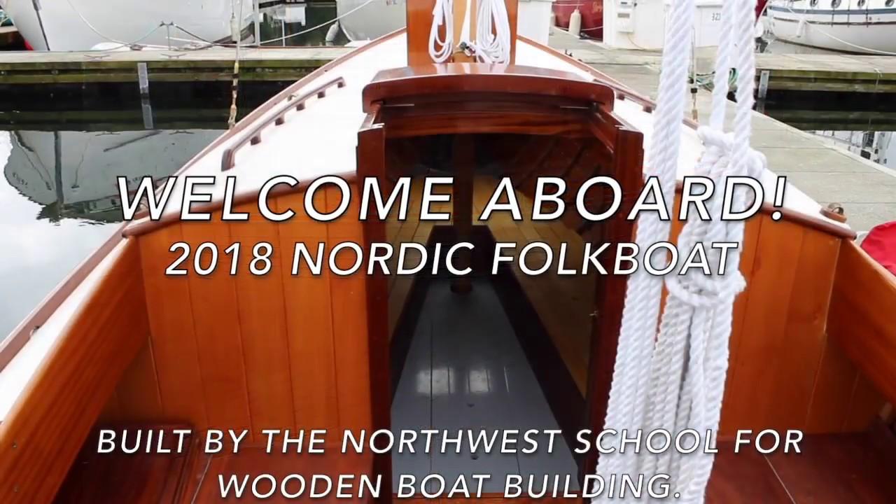 Download 2018 Nordic Folkboat - Interior Walk Through