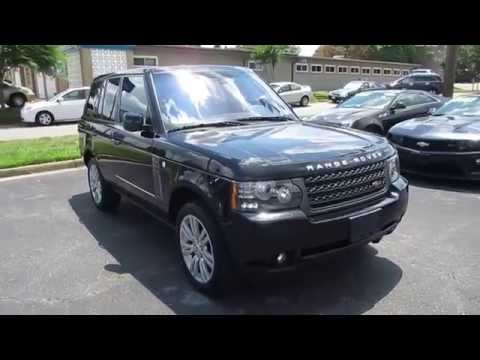 2011 Land Rover Range Rover HSE Walkaround, Start up, Exhaust, Tour and Overview