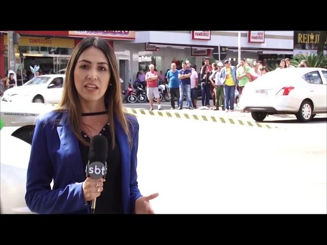Idoso morre atropelado na faixa de pedestres no centro de Chapecó