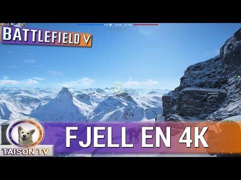 Battlefield V FJELL 625 Gameplay En 4K 60FPS