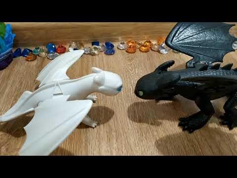 Беззубик Дневная фурия и малыши. Жизнь драконов в скрытом мире.