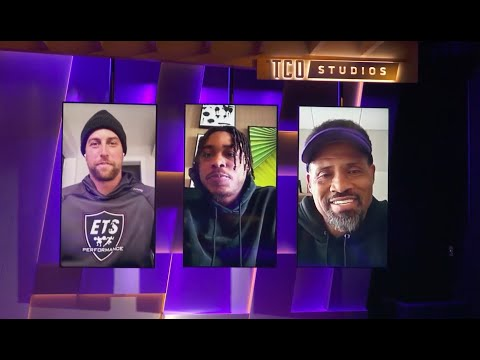 Justin Jefferson and Adam Thielen Sit Down With New WRs Coach Keenan McCardell | #VikingsAtHome
