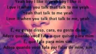Rihanna ft Jay-z Talk That Talk (inglês e português)