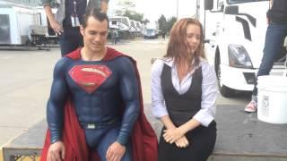 冰桶挑戰 超人 亨利卡維爾Henry Cavill & 艾美亞當斯Amy Adams  ALS Ice Bucket Challenge DC Batman V Superman 蝙蝠俠 Thumbnail