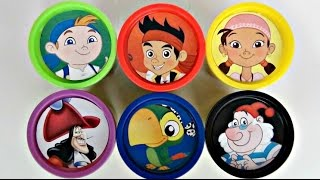 Disney Jr. JAKE AND THE NEVERLAND PIRATES Play doh Toy Surprise, Capt. Hook Jolly Rodger Boat / TUYC