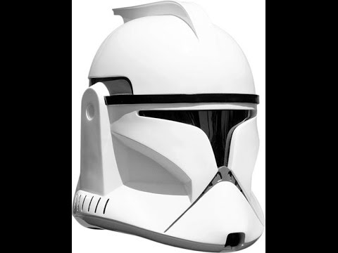 phase 1 clone trooper helmet attack of the clones hd review youtube