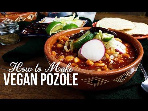 How to Make Mexican Vegan Pozole   Pozole Vegano