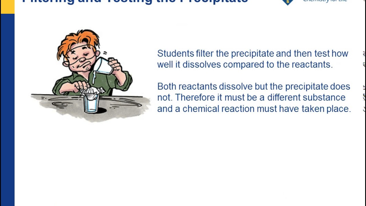 Forming a Precipitate | Chapter 6: Chemical Change | Middle
