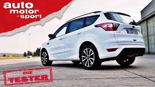 Ford Kuga 1.5 Ecoboost: Solide gereift oder ein altes Eisen? - Test/Review   auto motor und sport