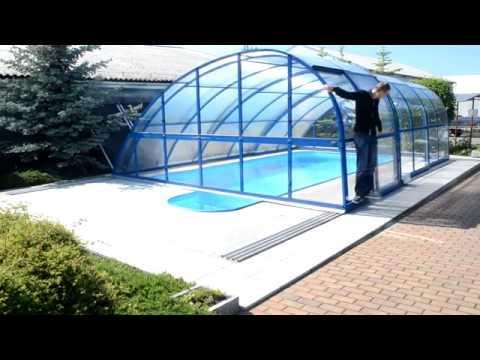 moteur pour abri piscine sundrive by albixon youtube. Black Bedroom Furniture Sets. Home Design Ideas