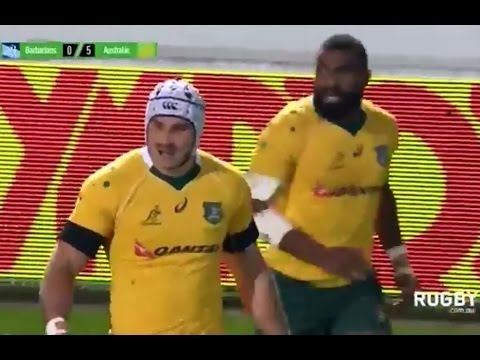 French Barbarians vs Australia full match Rugby union 26/11/2016 HD
