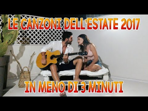 LE CANZONI DELL'ESTATE 2017 IN MENO DI 3 MINUTI | MARYNA