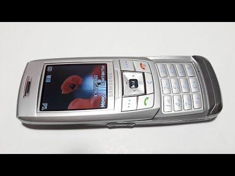 Samsung E250 слайдер обзор винтажного ретро телефона из прошлого