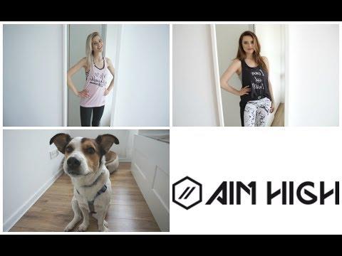 MarKowe: AIM HIGH | NAJLEPSZA ODZIEŻ SPORTOWA + Dog's Profit | MarKa