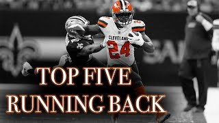 Why Nick Chubb Is A Top 5 Fantasy Football RB in 2019