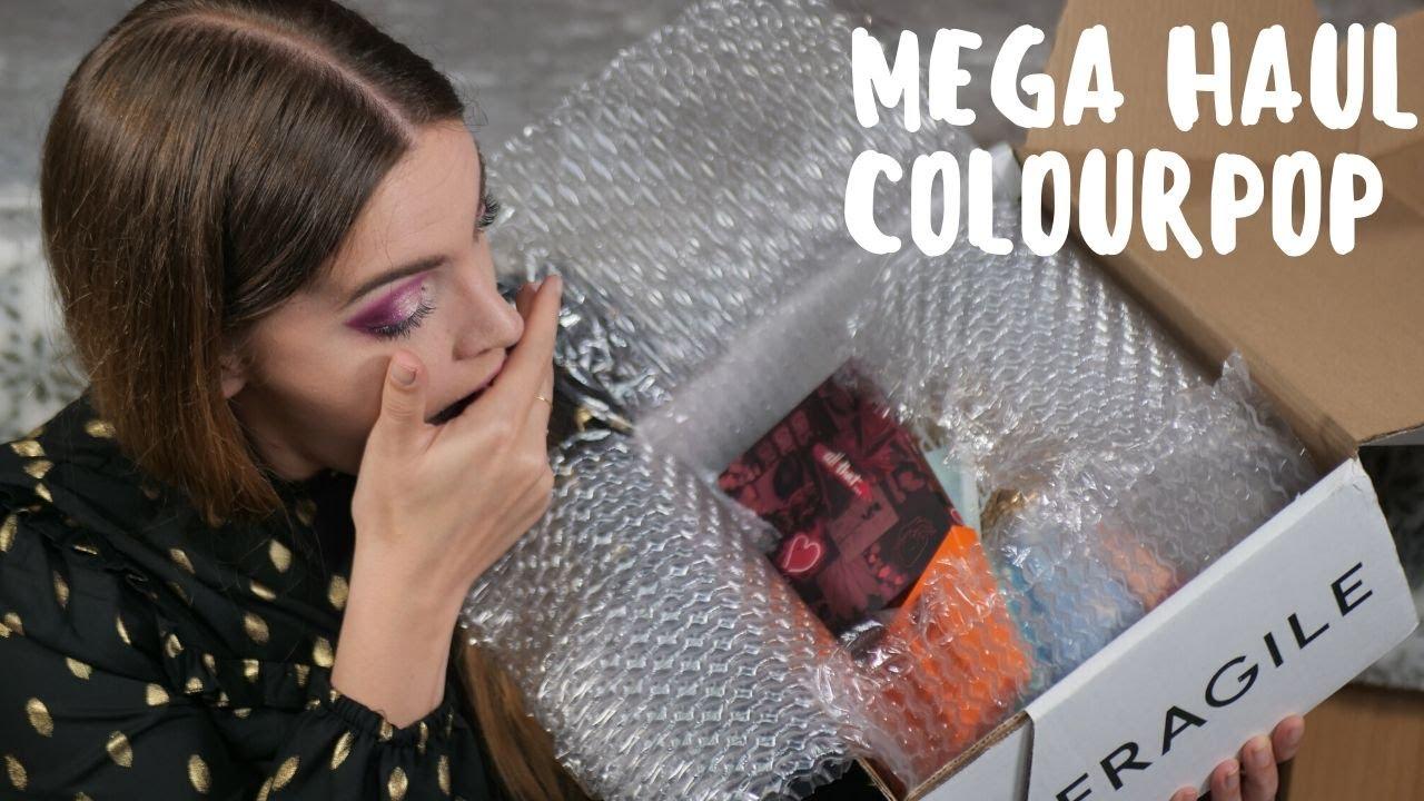 Mega Haul ColourPop ( Pas de frais de douane 😍 mais de la casse 😭)