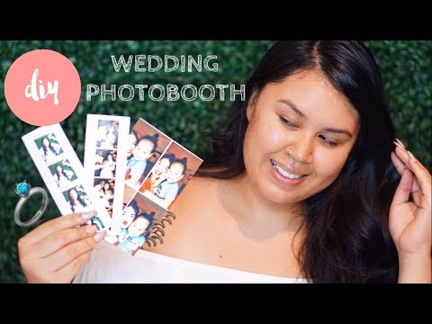 DIY Photobooth for Events + PRINTS | Wedding Hack