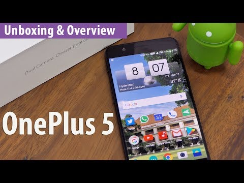 OnePlus 5 Unboxing & Overview with Camera Samples - Flagship Killer?