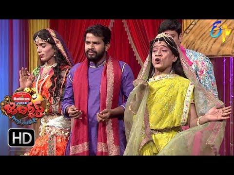Hyper Aadi, Raising Raju Performance   Jabardasth   22nd  March 2018    ETV  Telugu